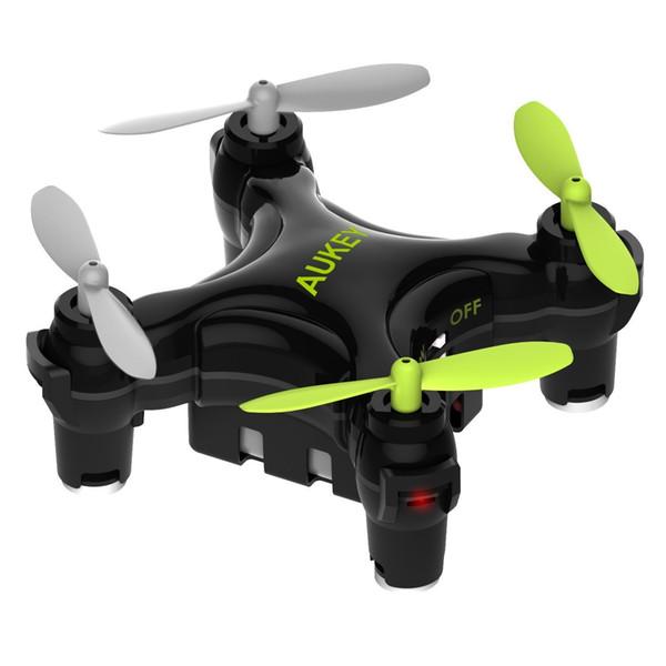 Existencias en Alemania Mini Drone Quadcopter Aterrizaje y despegue con una sola tecla de AUKEY - Negro