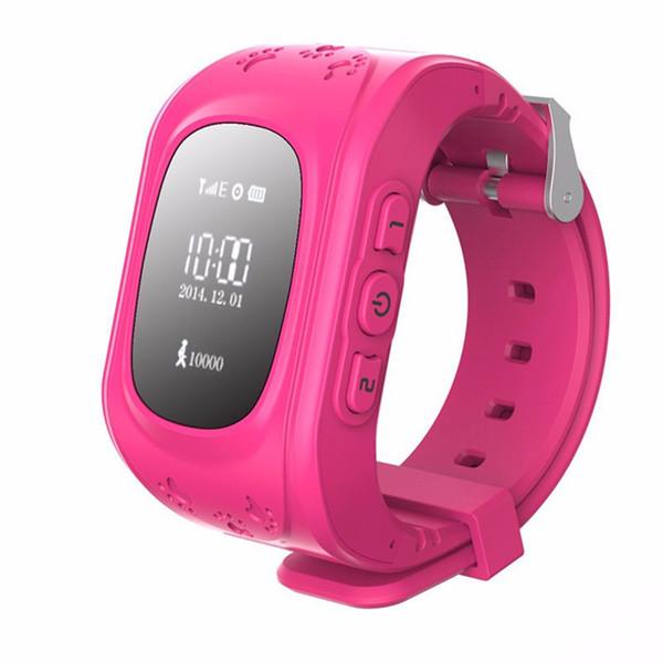 Smart Kid Safe GPS Uhr Armbanduhr SOS Anruf Location Finder Locator Tracker für Kind Kind Anti Lost Monitor Baby Uhren Telefon Geschenk Q50