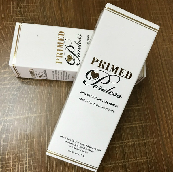 best selling New In Stock!!Hot Makeup Primed Poreless Skin Smoothing Foundation Face Primer 28g White Shipping
