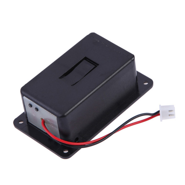 top popular Freeshipping High Quality 10p\Lot Battery Holder For Black 9V Battery Box Case Cover Holders For Guitar Bass Pickup replacement accessory 2021