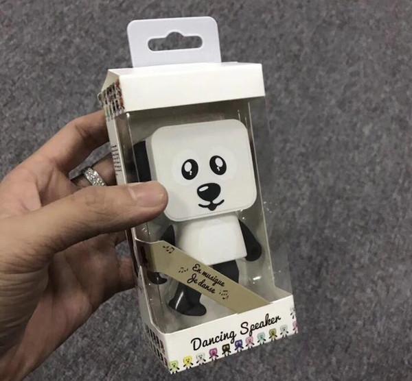 Portable Wireless Dance Robot Dog Speaker Stereo Super Bass Speakers TOP2062