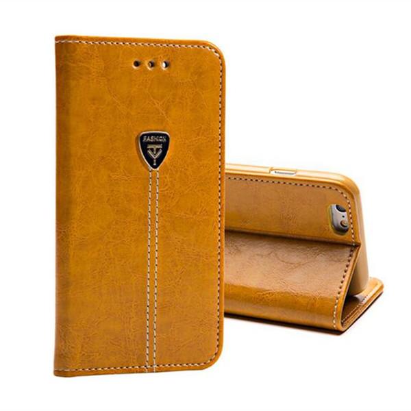 Cas de portefeuille de luxe flip couvre pour samsung galaxie s5 s6 s7 edge note 3 4 5 6 7 PU cuir stand téléphone sacs