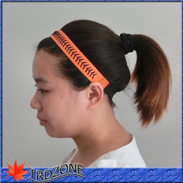softball baseball sports Cinturino in pelle Elastic Sports fascia per capelli