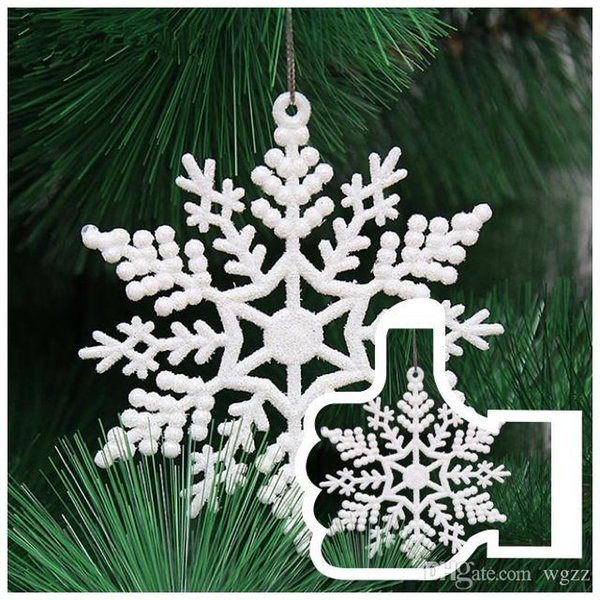 Party Decoration The new holiday articles 10 centimeters flash with snow Christmas ornaments Christmas tree decorated Christmas decorations