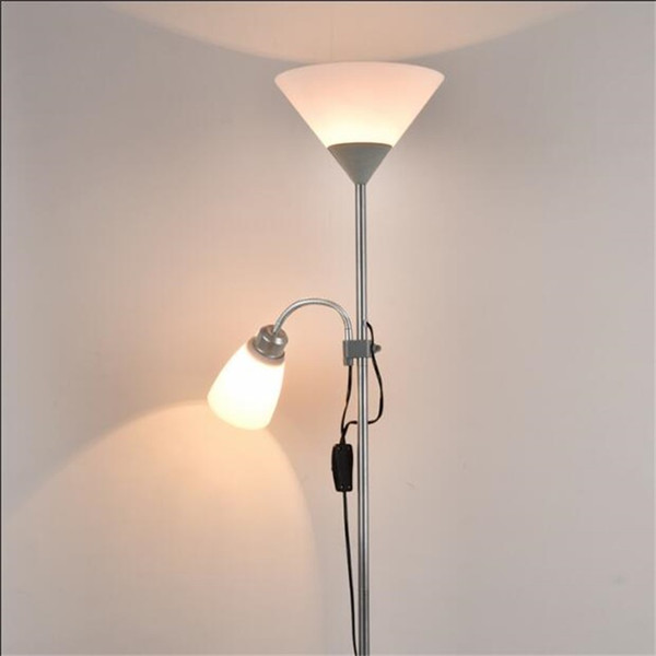 Nouveau lampadaire design Moderne Simple Lampadaire De Table Table Basse Debout Luminaire Salon Etude Chevet Lecture Piano Lampe