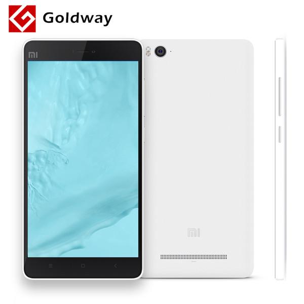 Wholesale-Original Xiaomi Mi4c Mobile Phone 4G LTE Snapdragon808 Hexa Core 5.0 inch 1920X1080P 2GB RAM 13MP IR 16GB 32GB ROM Optional