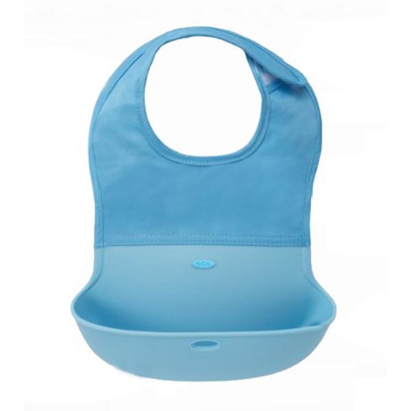 Wholesale- NEW HOT Hot Baby Girl Boy Kid Newborn Waterproof Silicone Bandana Bib Saliva Towel Scarf Bib H99