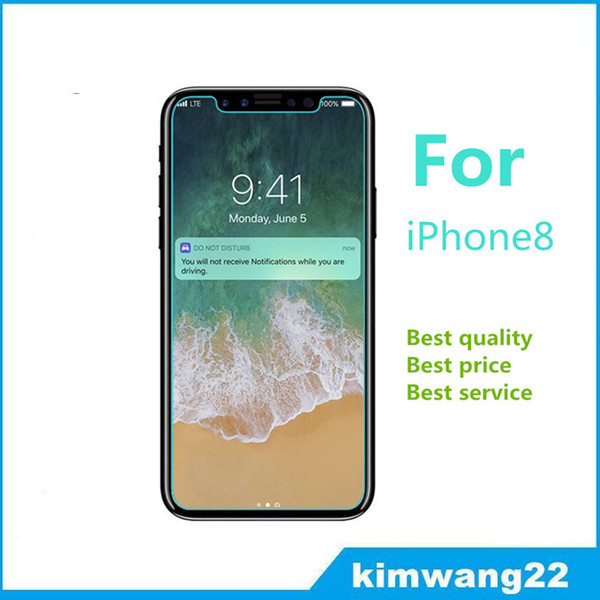 best selling For Iphone 8 Iphone8 Top Quality Best Price Tempered Glass Screen Protector 2.5D all in stock
