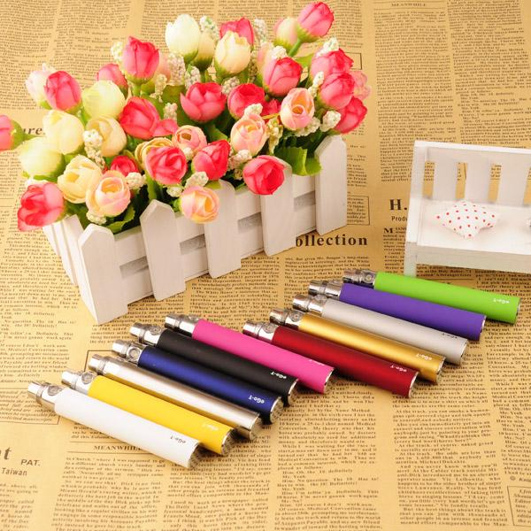 2019 EGO Battery for Electronic Cigarette E-cig Ego-T 510 Thread match CE4 atomizer CE5 clearomizer CE6 650mah 900mah 1100mah 9 Colors