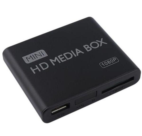 Мини-медиа-плеер Media Box ТВ видео мультимедийный плеер Full HD 1080p поддержка MPEG/MKV / H. 264 HDMI AV USB
