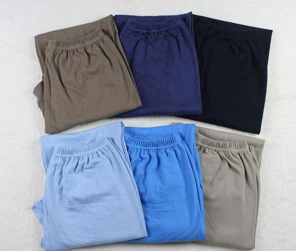 Coton-pantalons pour hommes Vente en gros-Vêtements pour hommes Sous-vêtements pour hommes