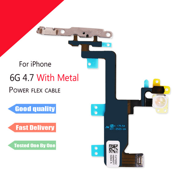 "for iPhone 6 6G 4.7"" Power Switch On Off Sensor Proximity Ribbon Flex Cable Replacement parts"