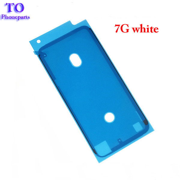 500PCS Front LCD Frame Housing Waterproof Sticker 3M Pre -Cut Adhesive Glue Tape Sticker For iPhone 6s plus 6sp 7 7g 7 Plus