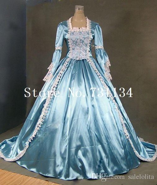 Time-limited Marie Antoinette Gothic Victorian Ball Gown Reenactment Stage Costume