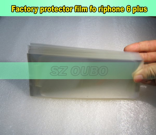 Front screen protector refurbishment film for iphone 6 plus , LCD front screen protector film for repair lcd 300pcs/lot DHL free shipping