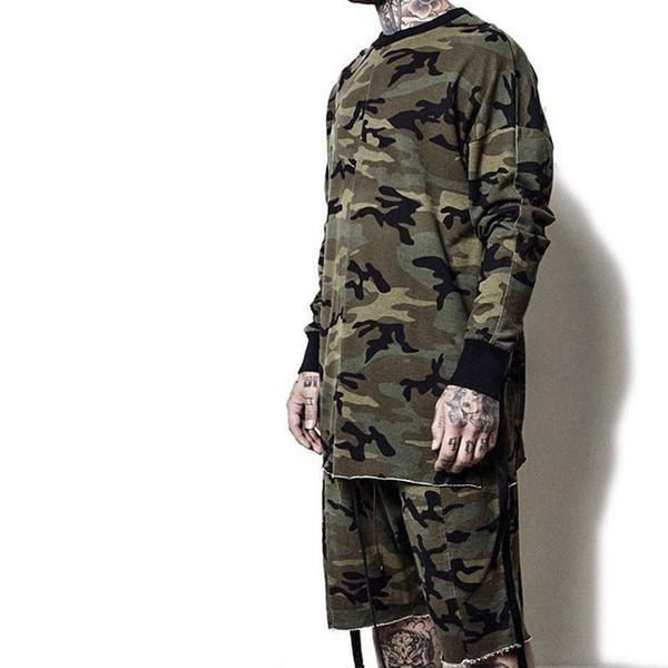 HEYGUYS Original Design Printemps Automne Marque Hommes Hoodies Survêtements À Capuche Hommes Mâle Chaud Épais Sweat Camouflage Hoodies