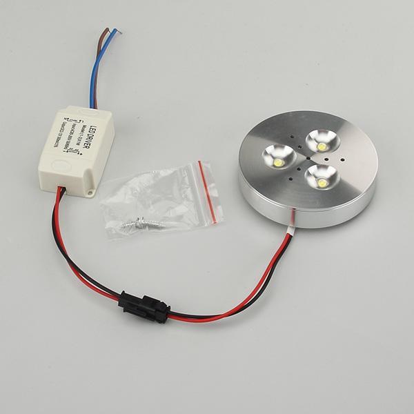 Led Retro Light 3W Super Bright Under Cabinet Puck Bulb 30 Watt Equivalent 110V-240V kitchen lighting