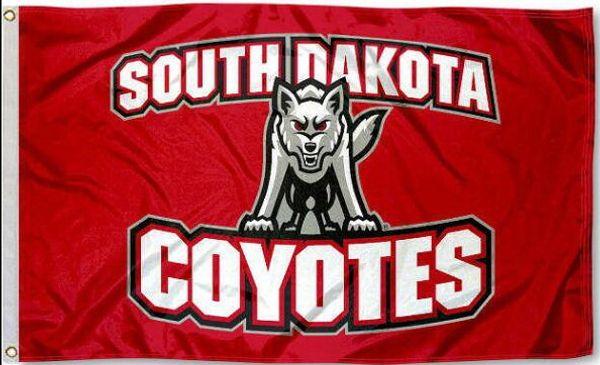 South Dakota Coyotes USD Flag 3x5 Banner