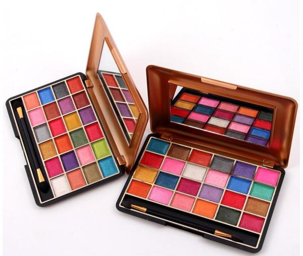 Miss Rose 24 Cores Shimmer fosco Paleta de Sombra de Olho Profissional Paleta de Maquiagem Sombra Olho Natural Cosméticos