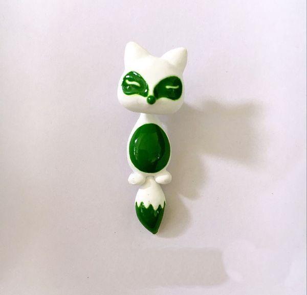 white + green