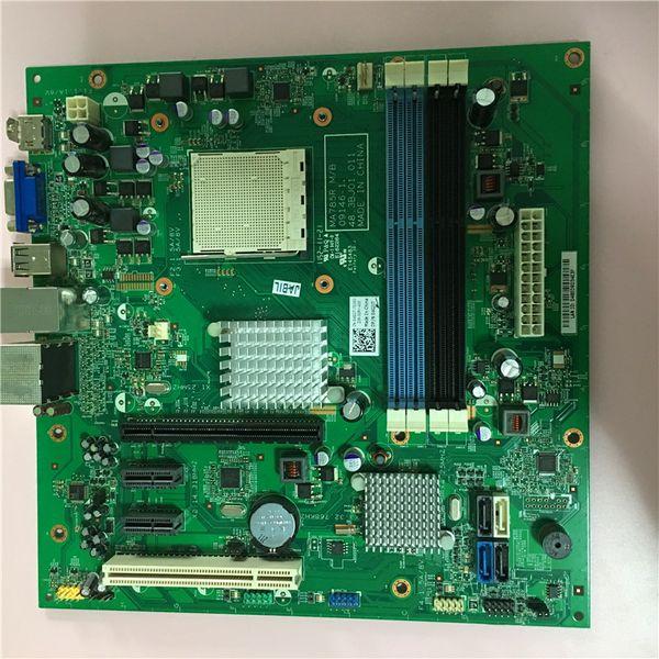 Placa para Dell Inspiron 570 SMT MA785R Placa base AM3 Socket AM3 Micro ATX 04GJJT 04GJJT 4GJJT