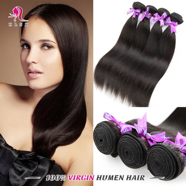 Clearance Straight Indian Remy Hair Unprocessed Virgin Human Hair