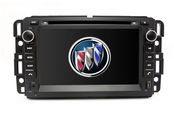 2-Din Auto Radio GPS Navigation Car DVD Player for Buick Enclave 2007-2012 with Bluetooth TV USB SD AUX Map Audio Video Stereo Navigator