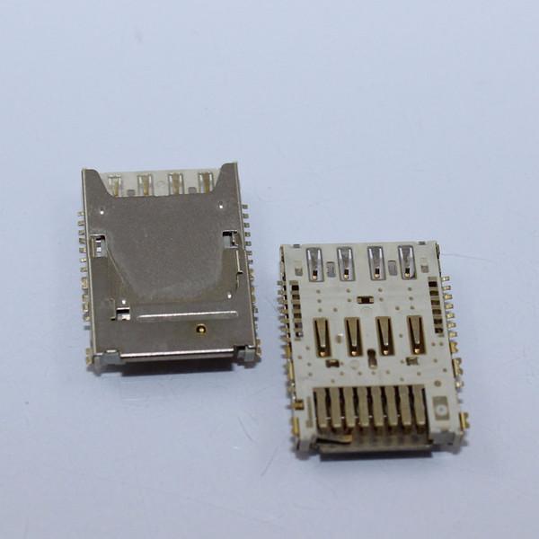 Wholesale-3PCS SIM Micro SD Memory TF Card Tray Reader Slot Holder Socket For LG G3 D850 D851 D855 D857 D858 D859 Free Shipping