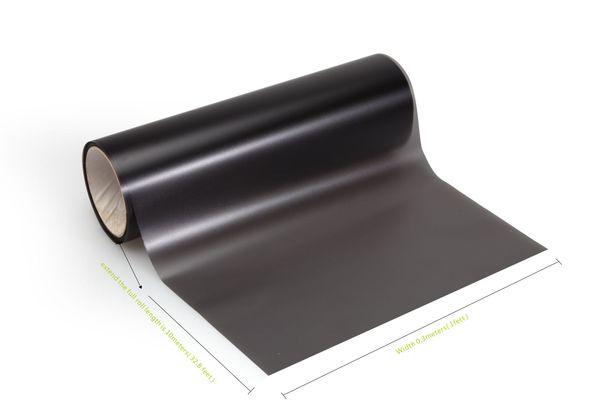 4 rolls/Lot Matte black smoke Car Headlights Tinting Headlamp Tint film black smoke tint Vinyl covering 0.3x10m DHL Free shipping
