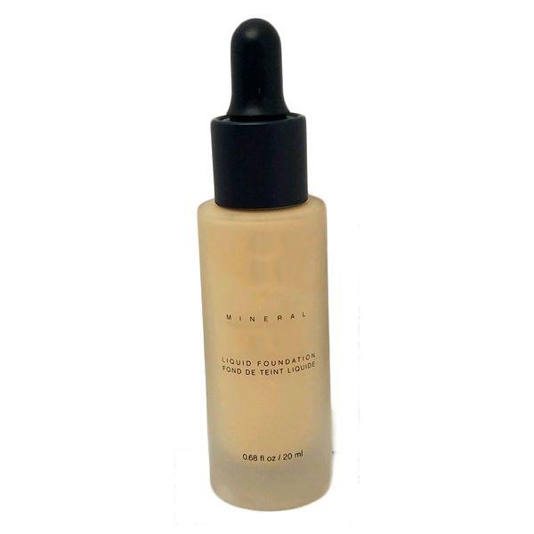 2017 Unique Touch Mineral Liquid Foundation Base de maquillaje profesional a prueba de agua facial corrector líquido 10 colores envío gratis
