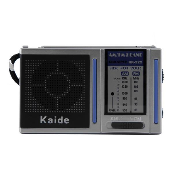 2016 Yeni Mini Radyo İstasyonu AM FM 2 Band Dahili Hoparlör ile Taşınabilir Cep Radyo Analog Mini Yayın