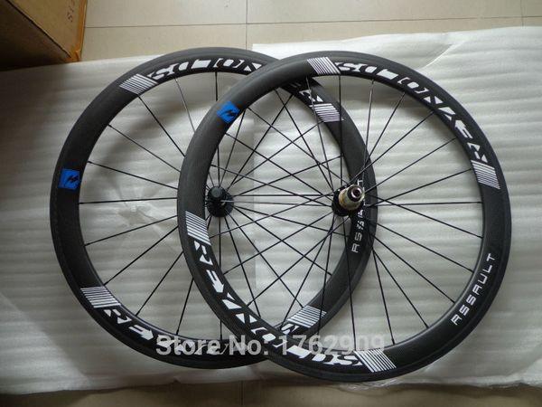 Nuovi cerchi per copertoncino 700C 50mm bici da strada opaco 3K full carbon wheelset per bicicletta con mozzo passante R13 20.5 23 25mm larghezza spedizione gratuita