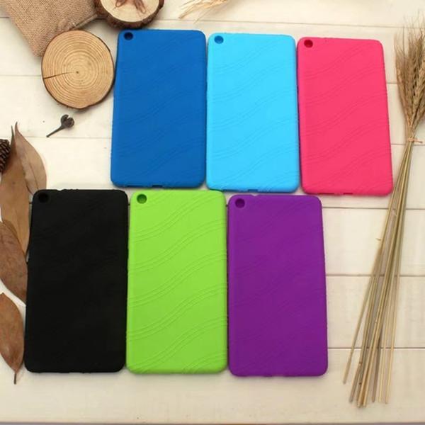 Silicone Rubber Soft TPU Back Cover Case for Lenovo Tab 3 7 Plus TB-7703 TB-7703X TAB3 7 Plus 7 inch Tablet + Stylus Pen 50pcs
