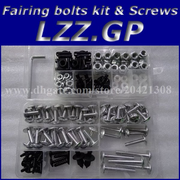 Fairing bolts kit screws for HONDA CBR600RR F5 2005 2006 CBR600RR 05 06 CBR600RR F5 05-06 Fairing screw bolts kit LZZ.GP