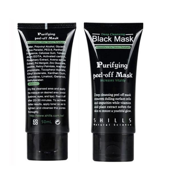 Más vendido SHILLS Depuracion purificadora de limpieza profunda Máscara facial de fango negro Quita la máscara de la cara de la espinilla 50ml