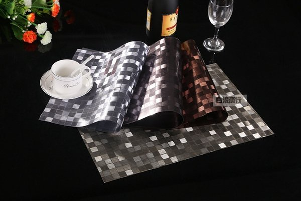 Ful Table Pvc Place Mat Cup Pad Coast Mat Western Placemat - Restaurant table accessories