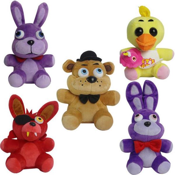 best selling Game Toys 7 Inch Five Nights at Freddy's Plush Bonnie Foxy Freddy Chica Fazbear Fever Plush Toy Stuffed Soft Dolls Animals Toy