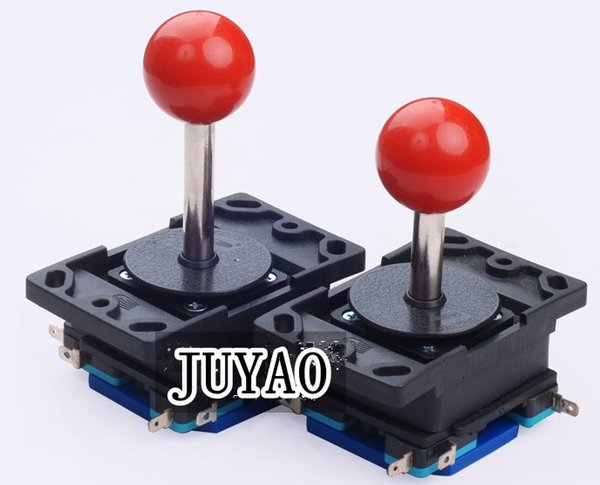 8 way long shaft or short shaft joystick with round top ball for arcade game machine, game controller