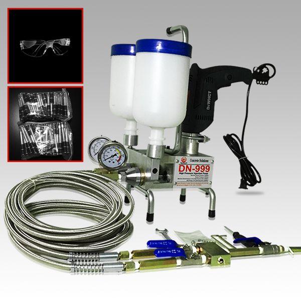 Premium epoxy injection pump polyurethane foam dual element uit crack injection pump for pu or epoxy