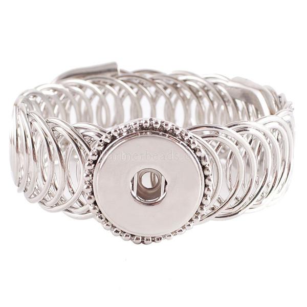 Meilleur Vendeur Haute Qualité Interchangeable Snap Bracelets Bijoux Pour 18 -20mm Snaps Fit Ginger Snaps Kc0622