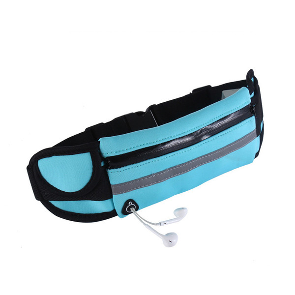 Outdoor Waist Pack Running Waist Waterproof Walking Purse Bag Mobile Phone Holder Jogging Belt Belly Bag Women Gym Fitness Bag
