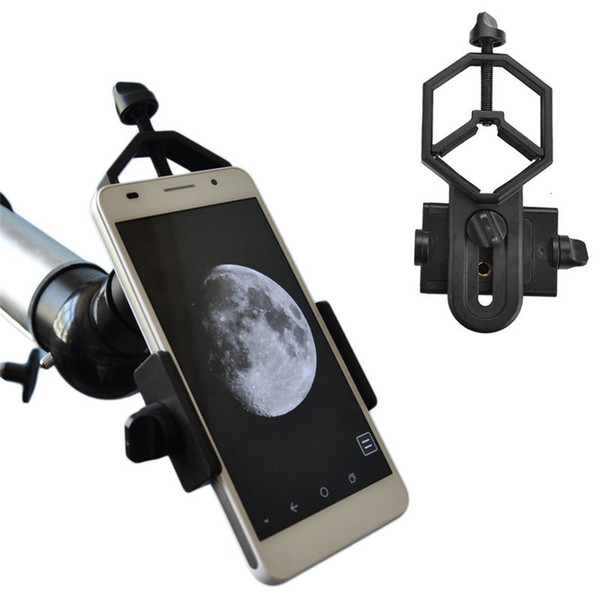 Universal Cell Phone Adapter Mount - Compatible with Binocular Monocular Spotting Scope Telescope and Microscope adapter