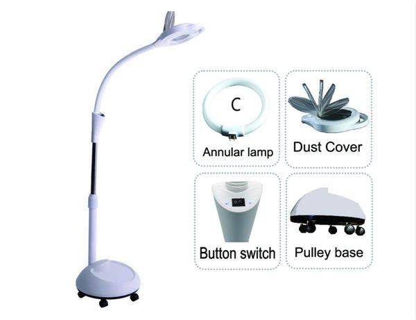Tipo de lâmpada anular