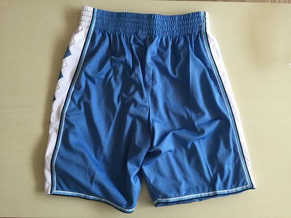 Pantalones cortos de baloncesto Hombres North Carolina Tar Heels 23 Nuevos pantalones deportivos transpirables Equipos Ropa deportiva clásica Pantalones cortos de baloncesto universitarios