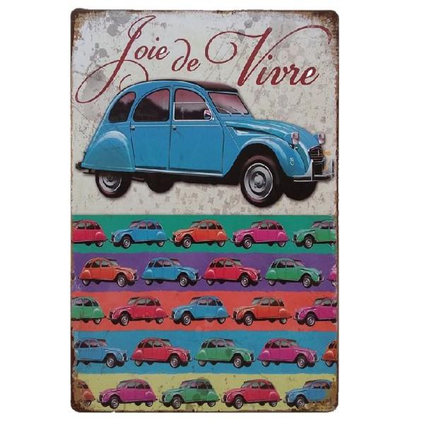 Love and Live Retro rustic tin metal sign Wall Decor Vintage Tin Poster Cafe Shop Bar home decor