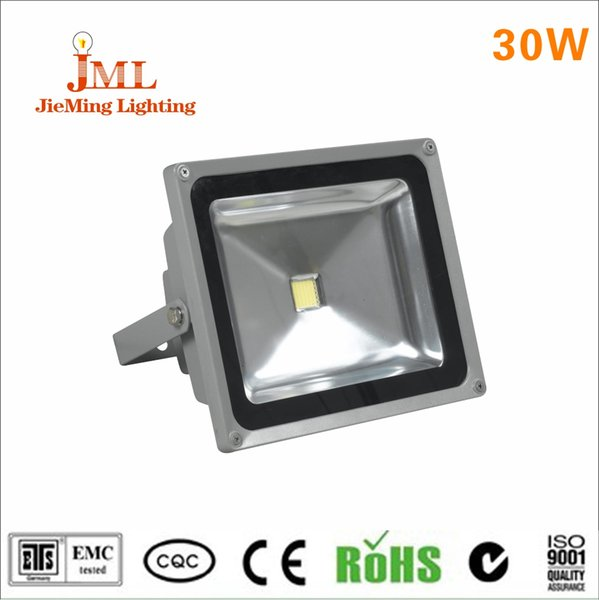 30W LED floodligt use square outdoor light white temperature color flood light aluminum housing material floodlight