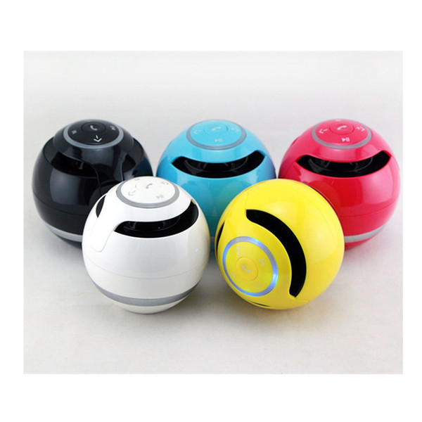 2017 Wholesale wireless bluetooth speaker free phone call mobile phone circular low - sound outdoor sports portable mini - card speaker