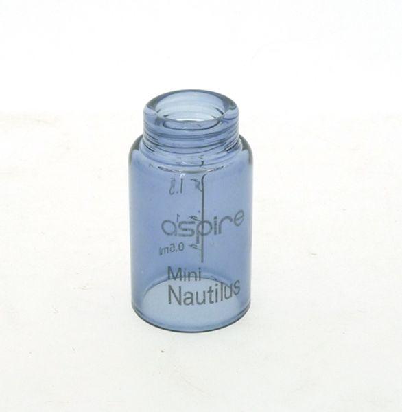 Wholesale- Replacement Glass Tube Cap 2ML Tank For Nautilus mini Atomizer 18mm Diameter