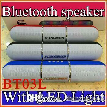 Bunte JHW-V318 Impuls-Pillen führten den Blitz, der beweglichen drahtlosen Bluetooth Lautsprecher Bulit-in Mic-freihändige Lautsprecher stützt FM USB H-YX