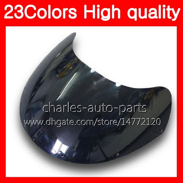 100% nuovo parabrezza moto per SUZUKI RGV-250 VJ23 RGV 250 97 98 RG V250 R GV250 RGV250 1997 1998 parabrezza trasparente nero cromato